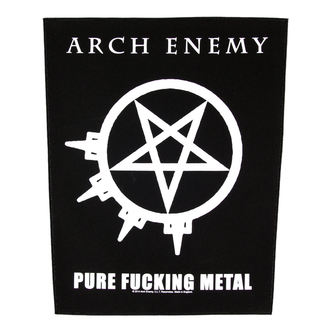 Großer Aufnäher     Arch Enemy - Pure Fucking Metal - RAZAMATAZ, RAZAMATAZ, Arch Enemy