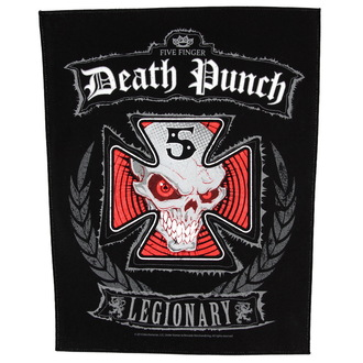 Großer Aufnäher     Five Finger Death Punch - Legionär - RAZAMATAZ, RAZAMATAZ, Five Finger Death Punch