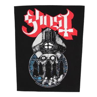 Großer Aufnäher     Ghost - Papa Warriors - RAZAMATAZ, RAZAMATAZ, Ghost
