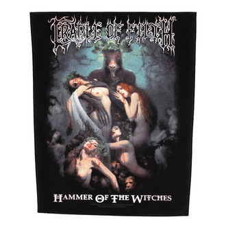 Großer Aufnäher     Cradle of Filth - Hammer Of The Witches - RAZAMATAZ, RAZAMATAZ, Cradle of Filth