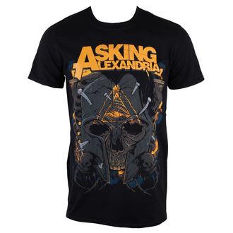 Herren T-Shirt  Asking Alexandria - Skull - PLASTIC HEAD, PLASTIC HEAD, Asking Alexandria
