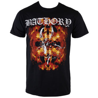 Herren T-Shirt  Bathory - Fire Goat - PLASTIC HEAD, PLASTIC HEAD, Bathory