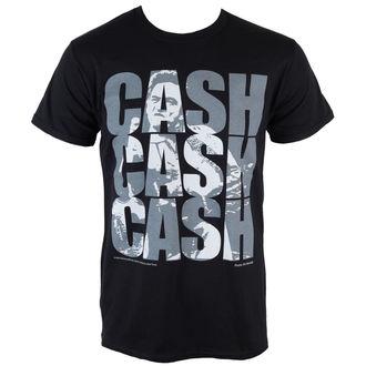 Herren T-Shirt  Johnny Cash - Cash Cash Cash - PLASTIC HEAD, PLASTIC HEAD, Johnny Cash