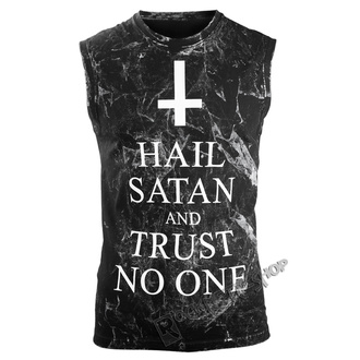 Herren Tanktop Hardcore AMENOMEN - HAIL SATAN AND TRUST NO ONE, AMENOMEN