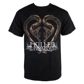 Herren T-Shirt  I Killed The Prom Queen - Snake Heart - Black - KINGS ROAD, KINGS ROAD, I Killed The Prom Queen