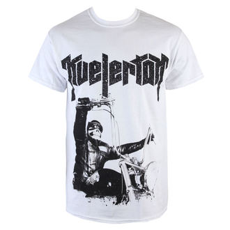 Herren T-Shirt  Kvelertak - Doom Biker - White - KINGS ROAD, KINGS ROAD, Kvelertak