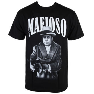 Herren T-Shirt  MAFIOSO - Capone - Black, MAFIOSO