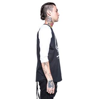 Herren T-Shirt  mit 3/4-Arm IRON FIST - Throne - Black/White, IRON FIST