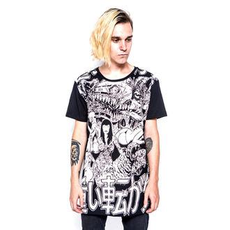 Herren T-Shirt  IRON FIST - Shinjuku Baggy Fit - Black, IRON FIST