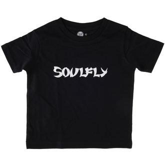 Kinder T-Shirt Soulfly - Logo - Black - Metal-Kids, Metal-Kids, Soulfly