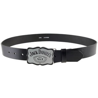 Gürtel Jack Daniels - Curved Plate - W / Schwarz, JACK DANIELS