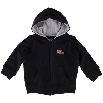 Kinder Hoodie  Iron Maiden - Logo - Metal-Kids, Metal-Kids, Iron Maiden