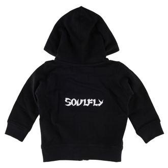 Kinder Hoodie  Soulfly - Logo - Metal-Kids, Metal-Kids, Soulfly