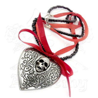 Kette mit Anhänger ALCHEMY GOTHIC - The Reliquary  Heart Locket, ALCHEMY GOTHIC