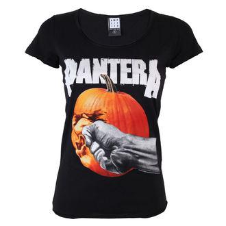 Damen T-Shirt Pantera - Pumpkin Kneifen - BLK - AMPLIFIED, AMPLIFIED, Pantera