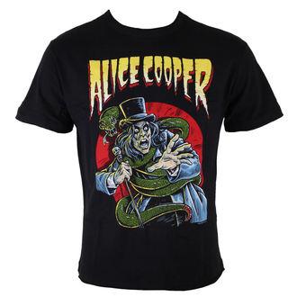 Herren T-Shirt  Alice Cooper - Snake - BLK - AMPLIFIED, AMPLIFIED, Alice Cooper