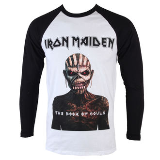 Herren Longsleeve Iron Maiden - Book Of Souls - ROCK OFF, ROCK OFF, Iron Maiden