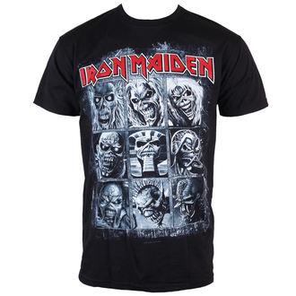 Herren T-Shirt Iron Maiden - Nine Eddies - ROCK OFF, ROCK OFF, Iron Maiden