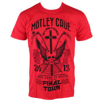 Herren T-Shirt Mötley Crüe - Final Tour Tattoo - ROCK OFF, ROCK OFF, Mötley Crüe