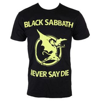 Herren T-Shirt  Black Sabbath - Never Day Die - BRAVADO, BRAVADO, Black Sabbath