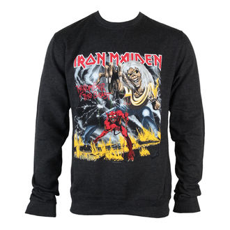 Herren Hoodie  Iron Maiden - NOTB Puff Print - ROCK OFF