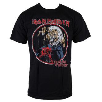 Herren T-Shirt Iron Maiden - NOTB Vintage - Black - ROCK OFF - IMTEE42MB