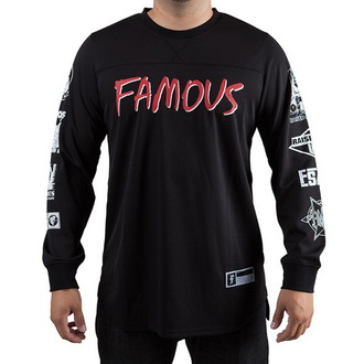 Herren Longsleeve (Dress) FAMOUS STARS & STRAPS - Raised On Rap, FAMOUS STARS & STRAPS