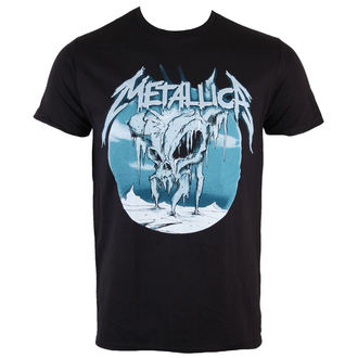 Herren T-Shirt  Metallica - Ice Black - BRAVADO, BRAVADO, Metallica
