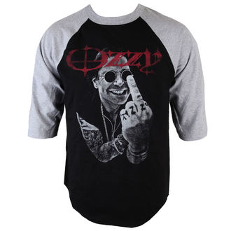 Herren T-Shirt  mit 3/4-Arm Ozzy Osbourne - OOS4 Finger - BRAVADO, BRAVADO, Ozzy Osbourne