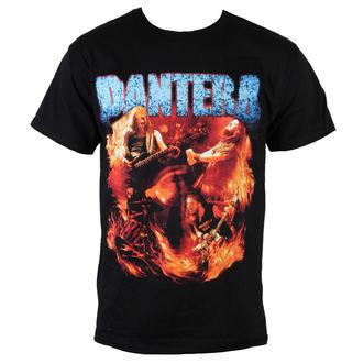 Herren T-Shirt  Pantera - Flames Vintage - BRAVADO, BRAVADO, Pantera