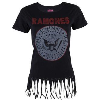 Damen T-Shirt Ramones - Seal Fringe - BRAVADO, BRAVADO, Ramones