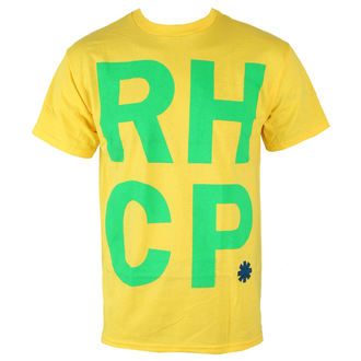 Herren T-Shirt  Red Hot Chili Peppers - Brazil Colors - BRAVADO, BRAVADO, Red Hot Chili Peppers