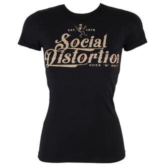 Damen T-Shirt Social Distortion - Rock And Roll - BRAVADO - 31251051