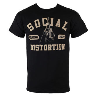 Herren T-Shirt  Social Distortion - Boxing Gloves - BRAVADO, BRAVADO, Social Distortion