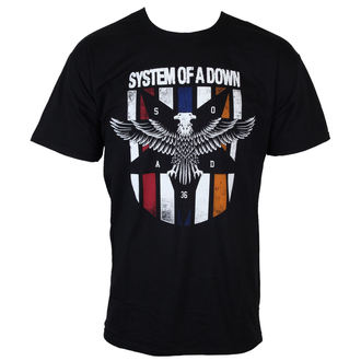 Herren T-Shirt  System of a Down - Eagles Colors - BRAVADO, BRAVADO, System of a Down