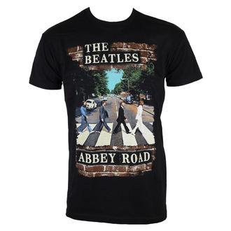 Herren T-Shirt  Beatles - Abby Brick Photo - BRAVADO - 20611483