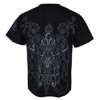 Herren T-Shirt  ALISTAR - Warrior & Drakkars - Black, ALISTAR