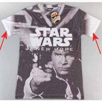 Herren T-Shirt Star Wars - A New Hope (Dye Sub) - PLASTIC HEAD - BESCHÄDIGT, PLASTIC HEAD