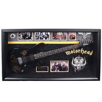 Gitarre mit Unterschrift Motörhead - ANTIQUITIES CALIFORNIA - Black, ANTIQUITIES CALIFORNIA, Motörhead