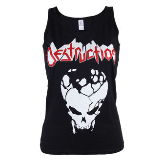 Damen Tank Top/Shirt Destruction - Skull GTT - ART-WORX, ART WORX, Destruction