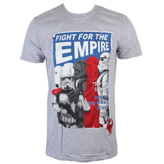 Herren T-Shirt Star Wars - Fight For The Empire - Charcoal - INDIEGO, INDIEGO