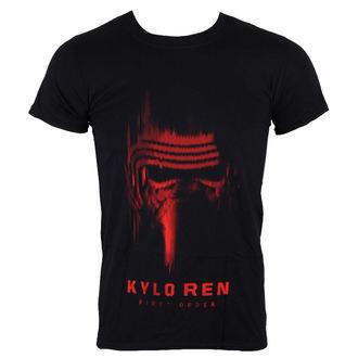 Herren T-Shirt Star Wars - Star Wars VII - Kylo Ren - Black - INDIEGO, INDIEGO