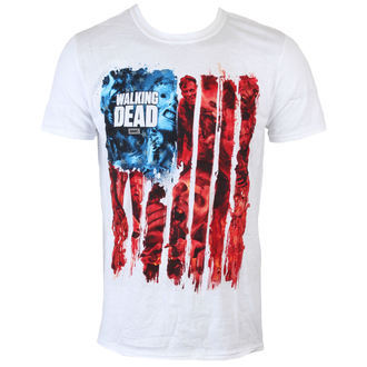 Herren T-Shirt The Walking Dead - American Gore - White - INDIEGO, INDIEGO