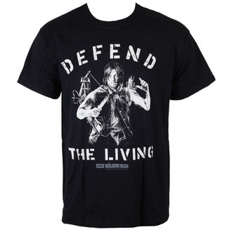 Herren T-Shirt The Walking Dead - Daryl verteidigen The Living - Black - INDIEGO, INDIEGO