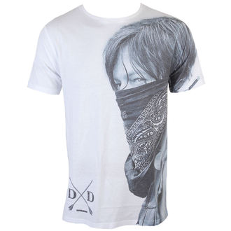 Herren T-Shirt The Walking Dead - Daryl Sublimation - White - INDIEGO, INDIEGO