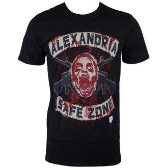 Herren T-Shirt The Walking Dead - Safe Zone - Black - INDIEGO, INDIEGO