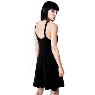 Damen Kleid KILLSTAR - Weisen Skater - Black, KILLSTAR
