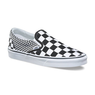 Unisex Low Sneaker - UA CLASSIC SLIP-ON (MIX-CHECKER) - VANS, VANS