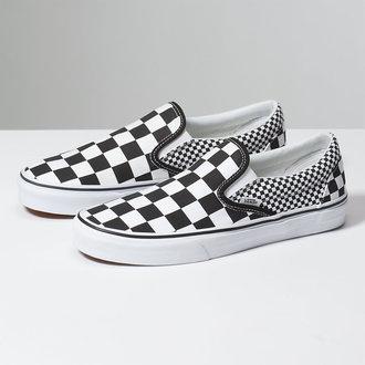 Unisex Low Sneaker - UA CLASSIC SLIP-ON (MIX-CHECKER) - VANS, VANS