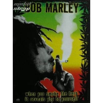 Fahne Bob Marley - Herb, HEART ROCK, Bob Marley